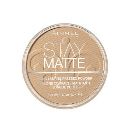Best compact powders for Acne prone Skin : Rimmel London Stay Matte Long-Lasting Pressed Powder