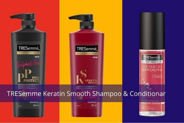Tresemme keratin smooth shampoo review India - buying guide