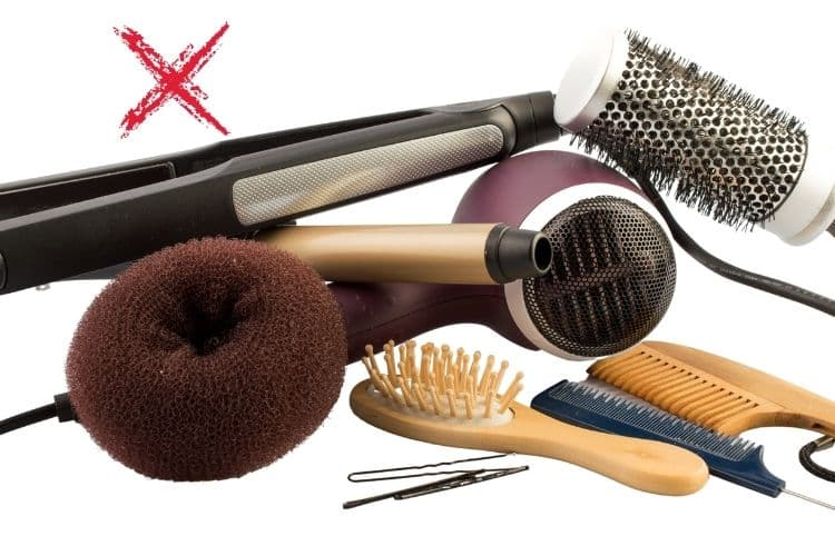 Excessive use of hair care products can damage hair permanently
