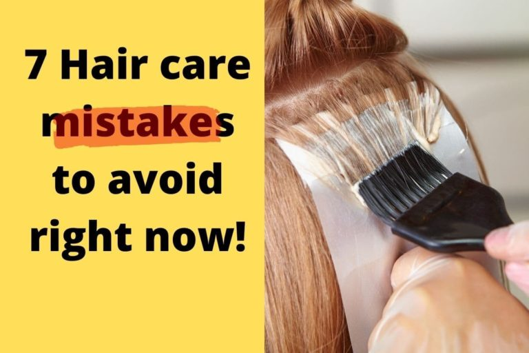 Hair care mistakes to avoid and have beautiful hair
