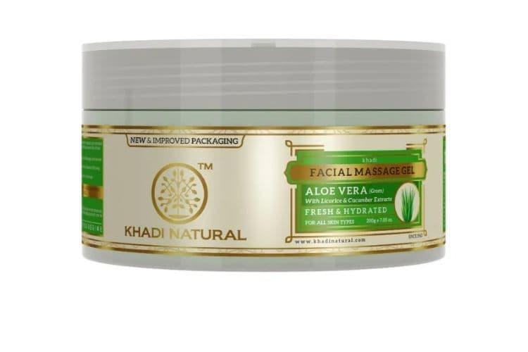 Aloe Vera gel for oily skin