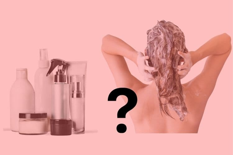 Washing hair frequently with hot water can damage your hair