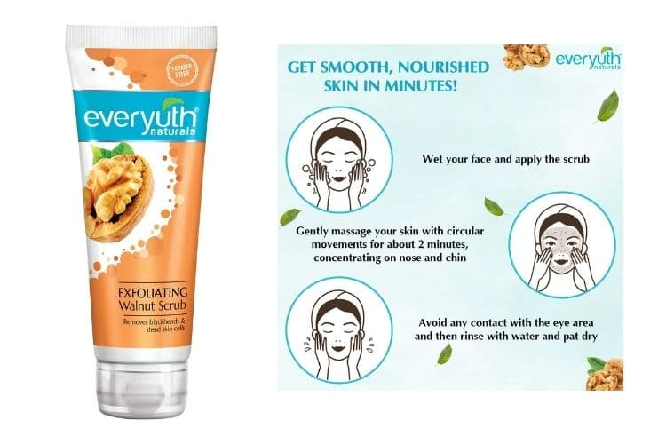 Best face scrub for dry skin in India