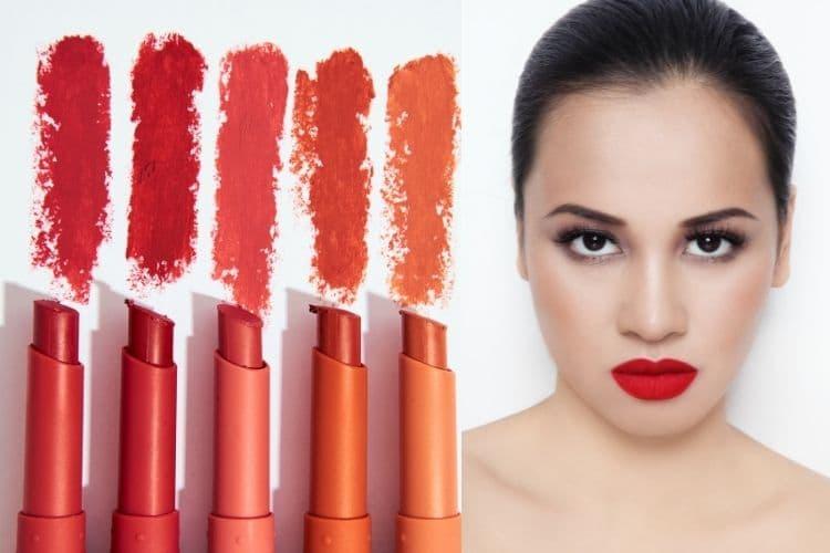 Matte lipsticks won't wash away during rain