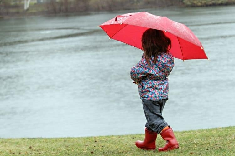 using rain boots can save your feet